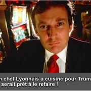 Un chef Lyonnais prêt à s'engager pour cuisiner pour Donald Trump