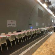 Le Tunnel du Goût de BIG Lyon avait lieu hier à Lyon, la plus grande table du monde réunissait 50 chefs !