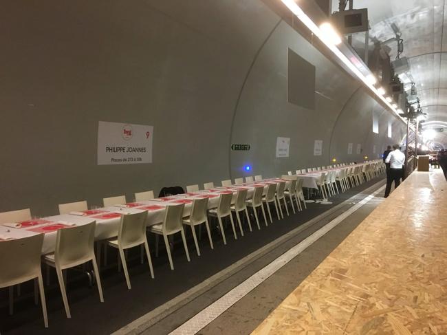 Le Tunnel du Goût de BIG Lyon avait lieu hier à Lyon, la plus grande ...