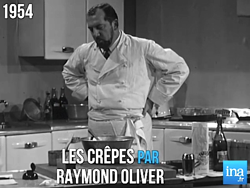 Chandeleur \u2026 les crêpes version Raymond Oliver en 1954