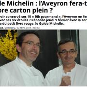 Michelin France 2017 – que dit la presse à 24 heures de la sortie du guide … ?