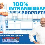 Philippe Etchebest – dans le rôle de – Mr. Propre – de la Cuisine