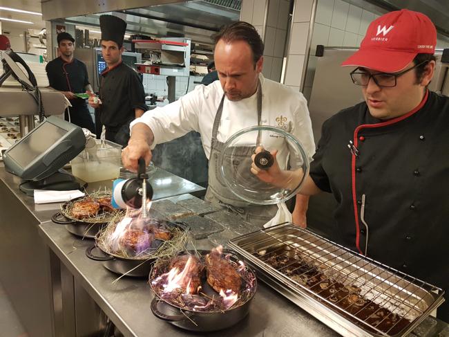 Haute Cuisine Au W Verbier Une Sacrée équipe De Chefs Acte 2