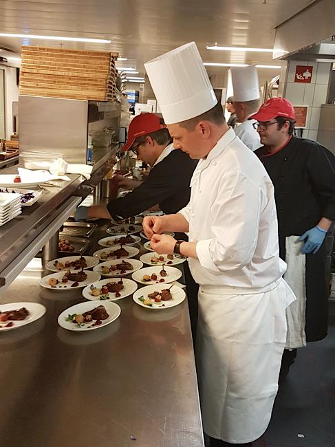 Haute cuisine w h tel verbier michel roth et franck - Chef de cuisine en suisse ...