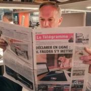Christian Le Squer lit-il la presse anglaise ? … non la presse bretonne !
