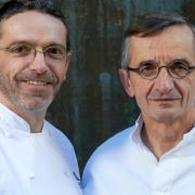 Michel et Bébastien Bras fêtent cette année les 25 ans de leur arrivée au Suquet