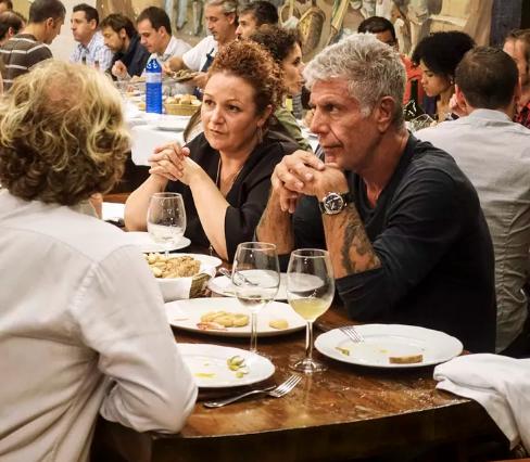 Anthony Bourdain San Sebastian Restaurants
