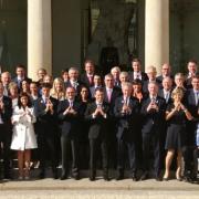 Thierry Marx et la maison Lenôtre recevaient à déjeuner sur une péniche la commission d'évaluation du CIO