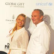 Christian Le Squer cuisine pour Eva Longoria et Pamela Anderson au GV