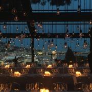 Anne-Sophie Pic servait dimanche soir le deuxième dîner Kering à Cannes dédié aux femmes