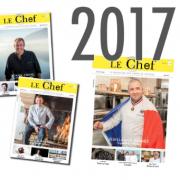 Les 100 meilleurs chefs 2018 pour le Mag Le Chef, ce sera le dimanche 26 novembre 2017
