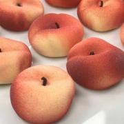 Les dernières créations du pâtissier Cédric Grolet … la pêche et l'abricot, les fruits de saison !