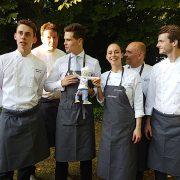 Geev's Project – 5 chefs étaient réunis à Poitiers pour soutenir l'initiative des 3 jeunes passionnés de gastronomie, ouverture de leur page de Crowdfunding