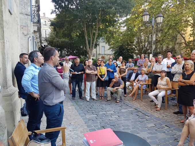 Montpellier Les Freres Pourcel Ouvrent Le Chantier Du Prochain