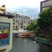 Londres – Sur le Regent's Canal, le pub The Narrowboat nous régale à l'anglaise
