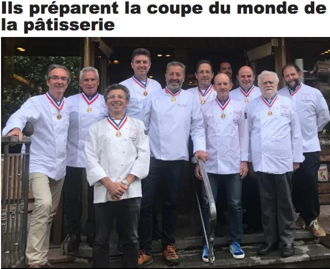Ils pr parent d j la coupe du monde de la p tisserie 2019 food sens - Coupe de monde patisserie ...