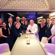 Marc Haeberlin fêtait hier les 50 ans de 3 étoiles de L'Auberge de L'Ill