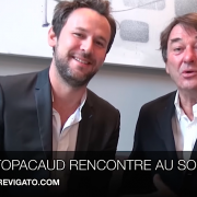 Apicius bientôt dans les mains de Mathieu Pacaud… Jean-Pierre Vigato » une jolie nouvelle, une grande nouvelle, je vais vous présenter mon successeur … «