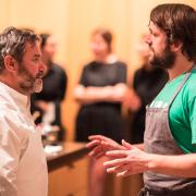 Les Troisgros cuisinent à New York avec le chef René Redzepi