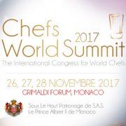 Le Davos de la Gastronomie se tiendra en novembre prochain à Monaco !