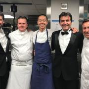 Le dîner de gala des Grandes Tables du Monde à NYC au Rockfeller Center, découvrez le menu