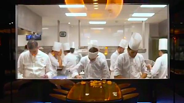 Vous voulez manger la table secr te du meurice by ducasse paris voil le code d 39 acc s - La table des chefs cambrai ...