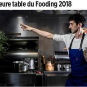Fooding 2018 fait son cinéma – Le palmarès 2018