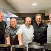 Gilles Goujon et Franck Renimel ont organisé leur premier dîner pour les Bouffons de la Cuisine en solidarité aux victimes de l'ouragan Irma