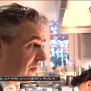 La Réserve Paris – Meilleur hôtel du monde ? … la réponse à 18h20 sur M6 à 66 minutes Grand Format