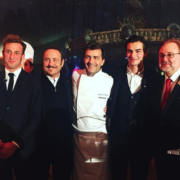 500 personnes ce soir à la table du chef Alléno pour le dîner de Gala de l'Union des Sommeliers de France