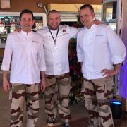 Guillaume Gomez – chef des cuisines de L'Élysée sert ce soir un dîner pour 700 soldats au Niger