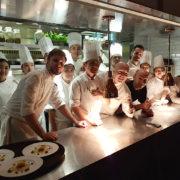 Scènes de cuisine au S Hôtel à Taipei avec le chef Pierrick Maire