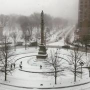 New York sous la neige … 3 chefs vous informent en live … Thomas Keller, Daniel Humm et Jean-François piège