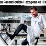 Le chef Mathieu Pacaud quitte ses deux adresses Hexagone et Histoire