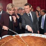 La galette des Rois à L'Élysée ce jour à L'Élysée – saviez-vous que volontairement elle ne contient pas de Fève ?