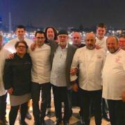 Le dîner de soutien aux sinistrés de l'ouragan Irma se tenait hier soir au Crillon à Paris – Gilles Goujon et les Bouffons de la Cuisine