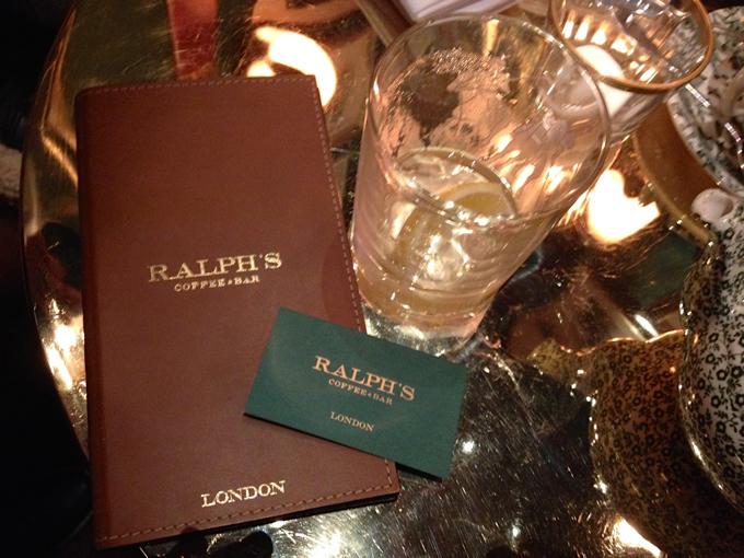 Londres rendez vous au ralph s coffee and bar le salon for Ralph s coffee london