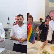 Guillaume Gomez cuisine pour des jeunes en difficultés à Tel-Aviv