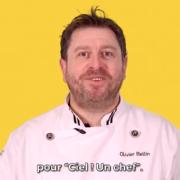 Fast Gastronomie  – La recette de flan de Saint-Jacques du chef Olivier Bellin pour Air france