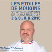 Philippe Etchebest Parrain de l'édition 2018 des Étoiles de Mougins, une bonne façon d'ouvrir davantage le festival au grand public