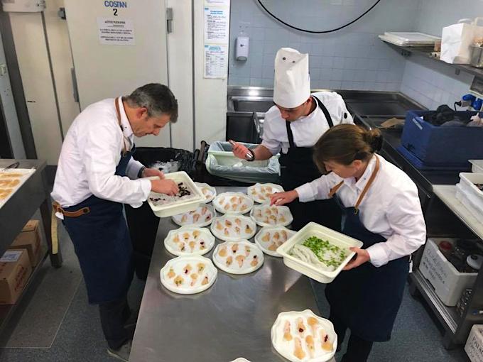 Nadia sammut cuisine pour les collectionneurs en italie - Chef de cuisine en suisse ...