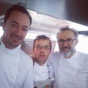 Massimo Bottura à Paris pour l'ouverture d'un nouveau Refettorio et la sortie d'un nouveau livre