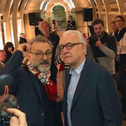 Les chefs aux côtés de Massimo Bottura au Refettorio – Food For Soul