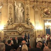 Les Bretons fêtaient hier soir la gastronomie au Quai D'Orsay autour de Jean-Yves Le Drian