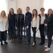 Brigitte Macron à la rencontre des étudiants de Ferrandi déjeuner avec les femmes chefs et soutient à l'équipe du Bocuse d'or France