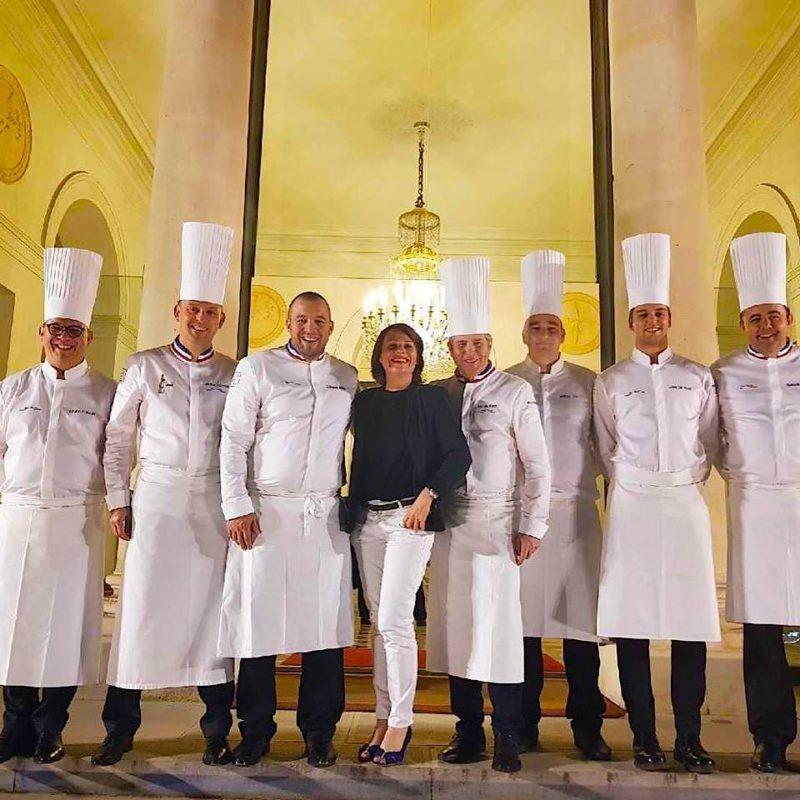 La team france du bocuse d 39 or dans les cuisines du palais for Cuisine tout equipe