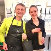 Rencontre entre un passionné de légumes le MOF Frédéric Jounault et une passionnée de plantes aromatiques – Anaïs Kerhoas – deux acteurs Food pour LMH