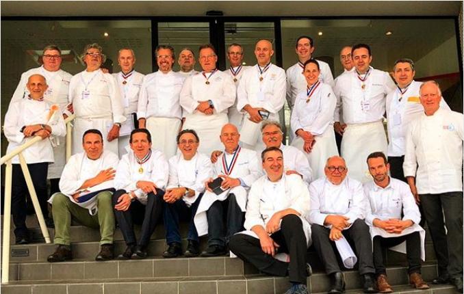Mof les photos de la classe cuisine gastronomie qui se for Appareil de cuisine qui fait tout