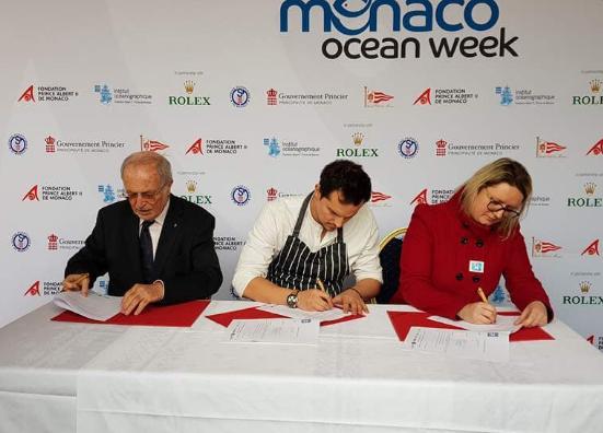 Monaco ocean week une semaine pour sensibiliser la for Albert samain la cuisine