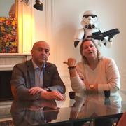 Olivier Nasti passe à table avec Véronique André pour FOUDE – Rencontre du 3ème Type